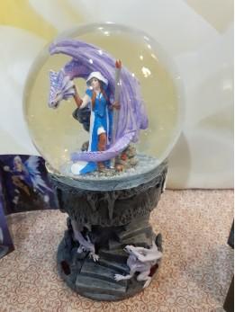 Anne Stokes Dragon Mage Globe