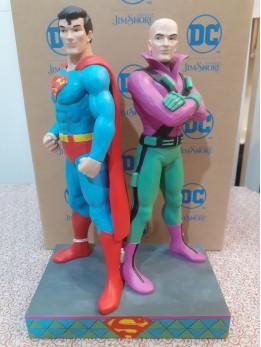 Superman and Lex Luthor Figurine