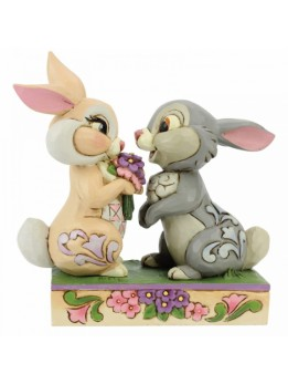 Bunny Bouquet (Thumper and Blossom Figurine))