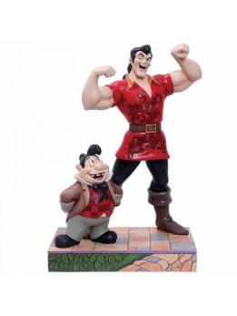 Muscle-Bound Menace (Gaston and Lefou Figurine)