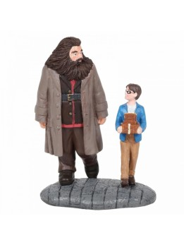 Basic Wizard Supplies (Harry Potter and Hagrid Figurine)