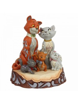 Carved by Heart Aristocats Figurine
