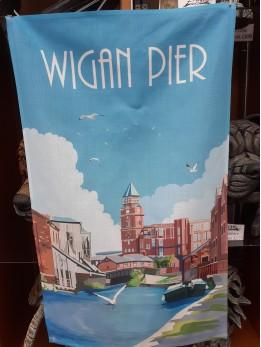 Wigan Pier Tea Towel
