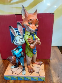 Nick & Judy from Zootopia