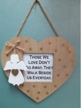 Heart Frame Plaque THOSE WE LOVE...