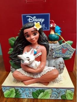 Moana with Pua and Hei Hei Figurine