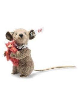 Steiff Xenia mouse with Teddy bear
