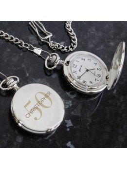 Pocket Fob Watch Personalised