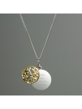 Tree Of Life Necklace Personalised