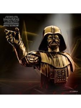 Darth Vader Bust Gilt Limited Edition