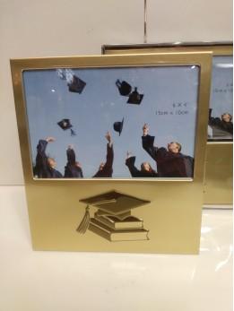 Graduation Gold Frame Engraved