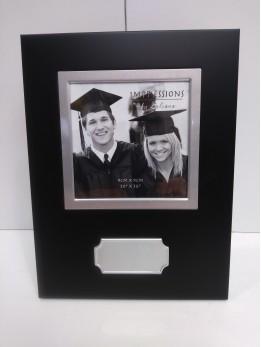 Graduation Frame Engraved (black)