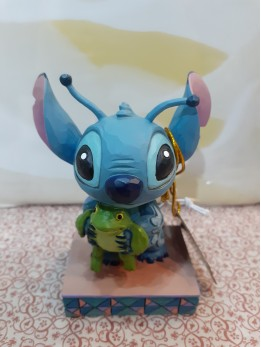Strange Life-Forms (Stitch with Frog Figurine)