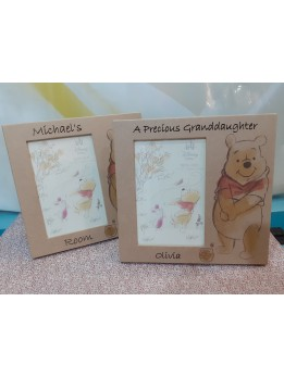 Winnie The Pooh Personalised Frame