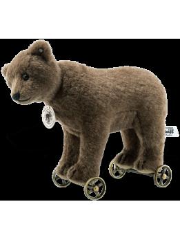 Steiff Replica 1904 Bear On Wheels